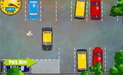 Игра - припаркуй такси